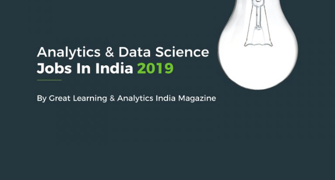 2019 Report – Career Opportunities in India for Analytics and Data Science