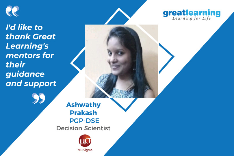 I'd like to thank the Great Learning Mentors for their guidance and support: Aswathy, PGP-DSE Alumnus