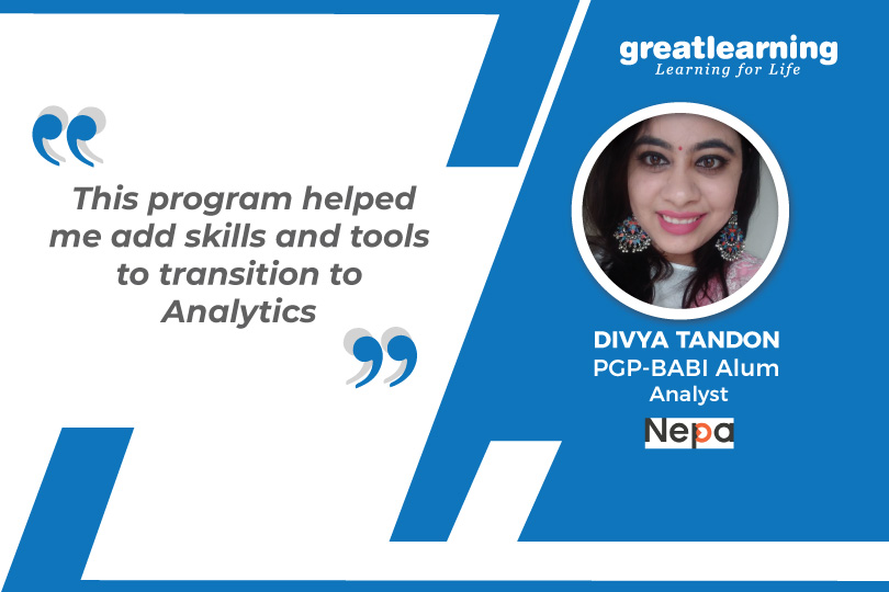 The program didn't require me to leave my job: Divya Tandon, PGP-BA Alum