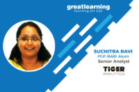 I feel lucky that I got to join Great Learning: Suchitra Ravi, PGP-BABI Alum