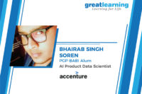 GL helped me to land a job as an Artificial Intelligence Engineer – Bhairab Singh Soren, AI product Data Scientist at Accenture