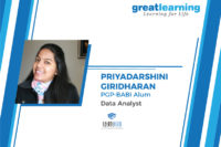 The guidance from the GL faculty is an important driver of my success – Priyadarshini, Analyst at LatentView