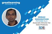 The best part of GL is its experienced faculty – Sriram Ramanathan, Associate Director for Data Products at Scientific Games