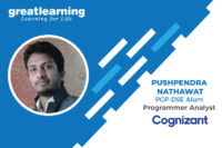 I got to interview with 3 companies – Pushpendra Nathawat, Programmer Analyst at Cognizant