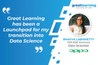 Great Learning has been a Launchpad for my transition into Data Science – Bhavya Labishetty, Data Scientist at Oppo