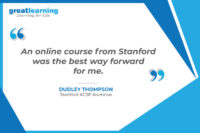 An online course from Stanford was the best way forward for me – Dudley Thompson, Stanford ACSP Alumnus