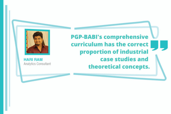 hari ram success story great learning
