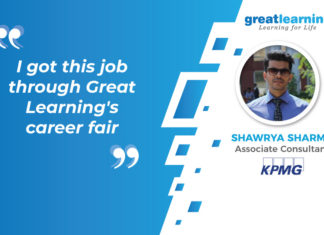 Great Learning Success Story by PGP-DSE : Shawrya Sharma , Associate Consultant at KPMG