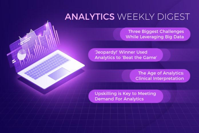 Data and business analytics weekly round-up