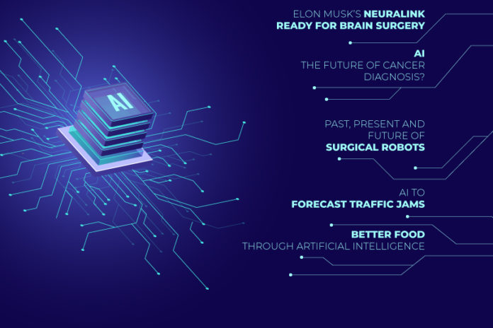 Weekly news for Artificial Intelligence in Healthcare and other sectors