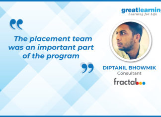 diptanil bhowmik great learning success story