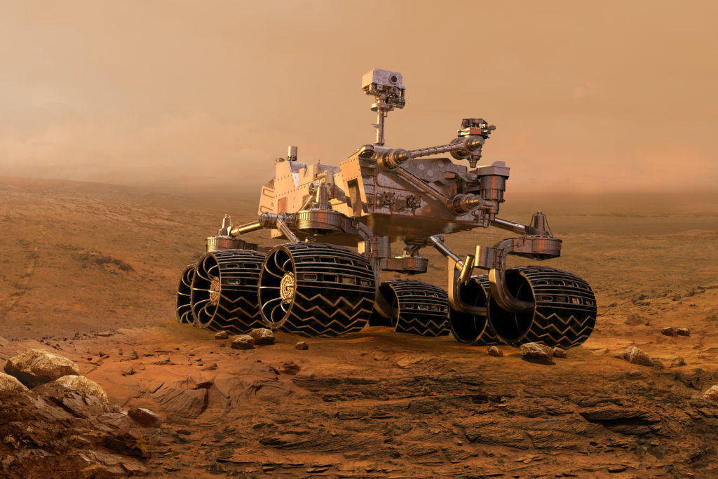 top artificial intelligence companies - NASA uses cognitive AI for Mars Rover