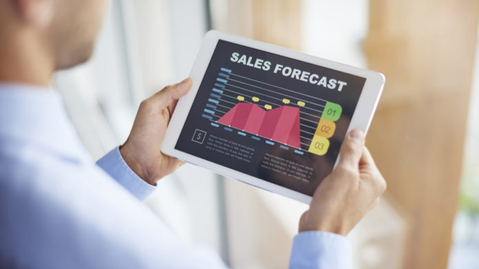 sales forecasting with machine learning