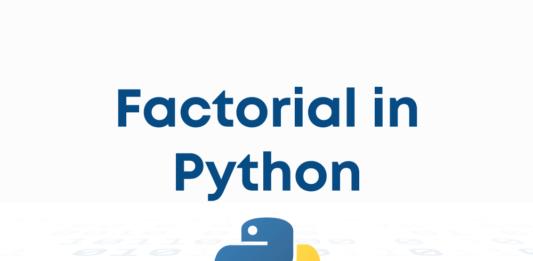 Factorial Python