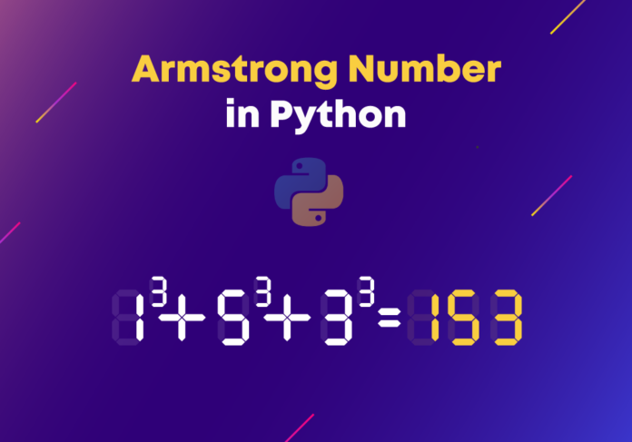 armstrong in python