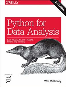 data science books - python for data analysis