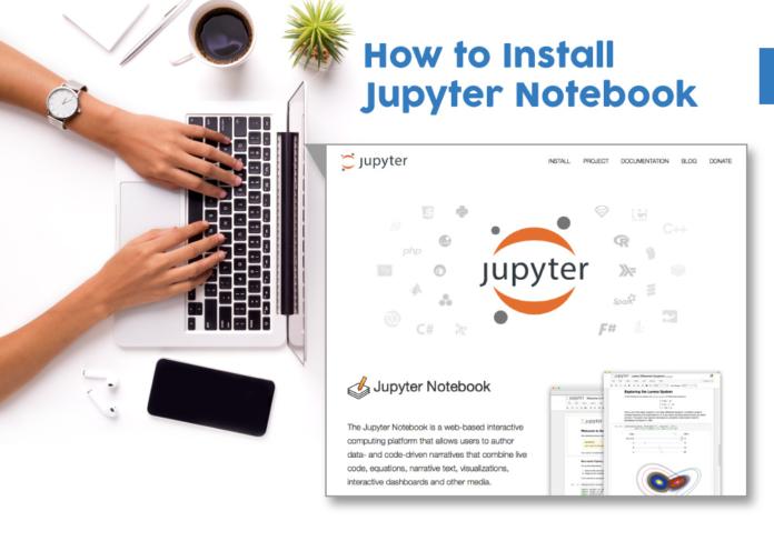 Jupyter notebook install