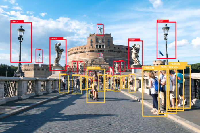 object detection using TensorFlow