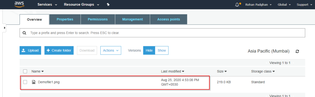 S3 Versioning - Amazon S3 Tutorial - Great Learning
