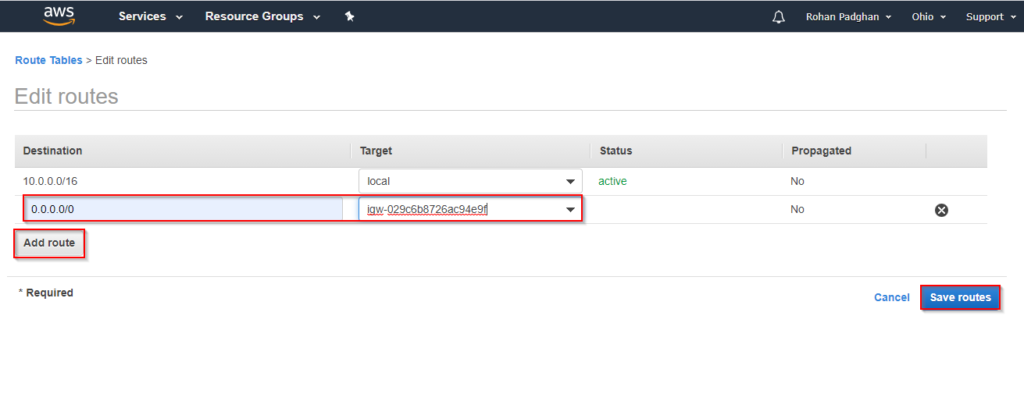 Step 8 - AWS VPC - Great Learning